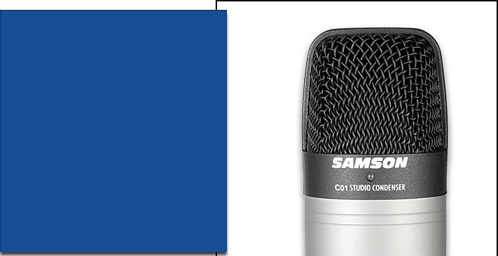 山逊(SAMSON) C01 电容式大震膜录音麦克风