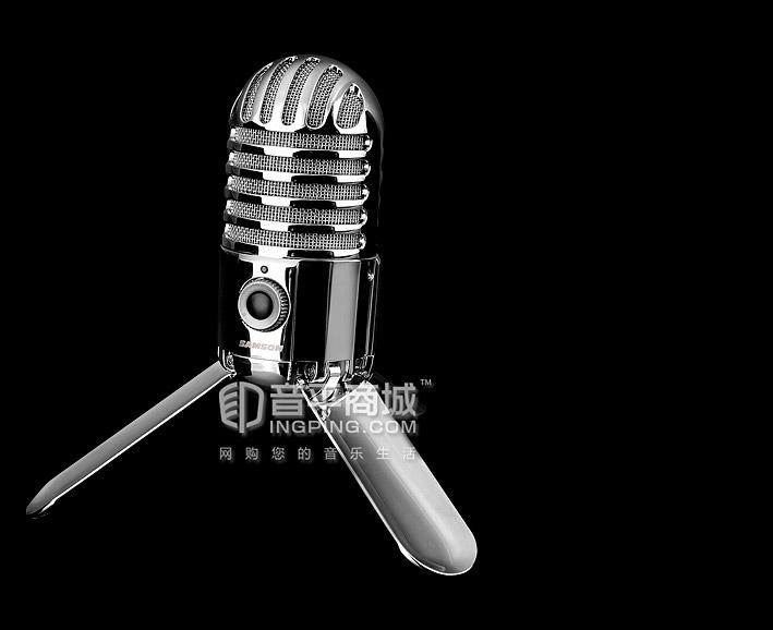 山逊(SAMSON) Meteor mic 电容式USB手机K歌/录音麦克风