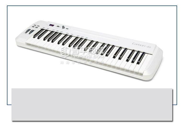 carbon 49键 半配重键盘(不带触后) MIDI键盘 支持IPAD