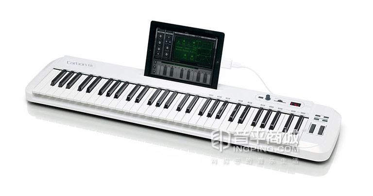 carbon 61键 半配重MIDI键盘 支持IPAD