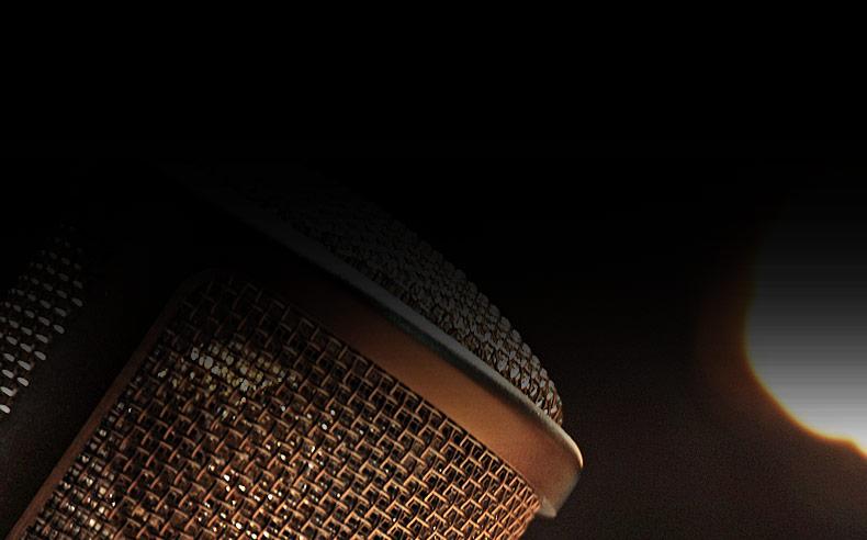 GEMINI II 双电子管话筒纯手工麦克风直播翻唱麦克风