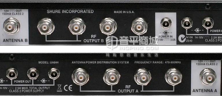 UA844SWB-C 天线分配器接口