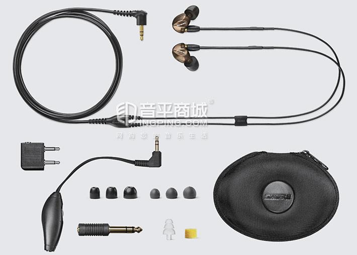 SE535入耳式耳机三单元动铁耳塞 包装清单