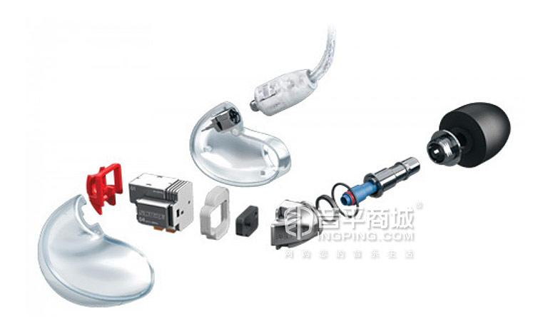 SE846四单元动铁耳机入耳式重低音 HIFI监听耳机