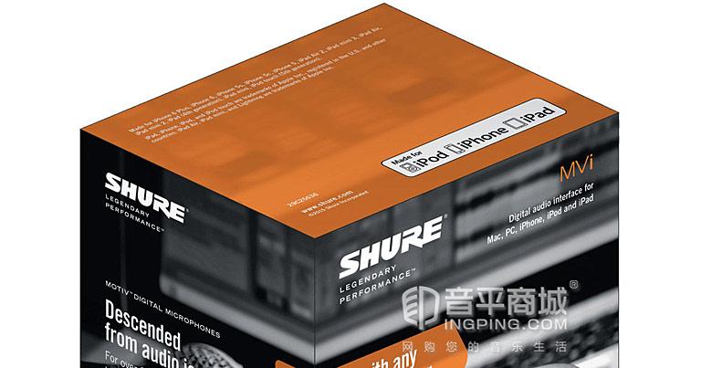 舒尔(SHURE) MVi -数字音频接口 声卡