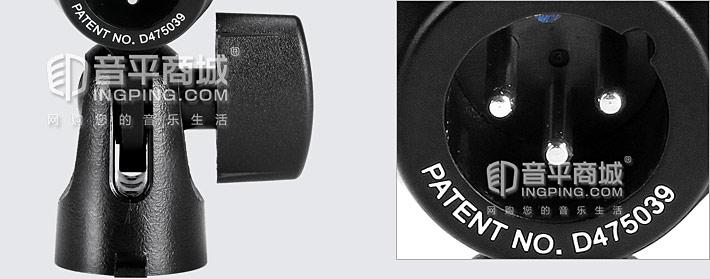 舒尔(SHURE) PG56CN-LC 动圈式军鼓/通通鼓乐器麦克风