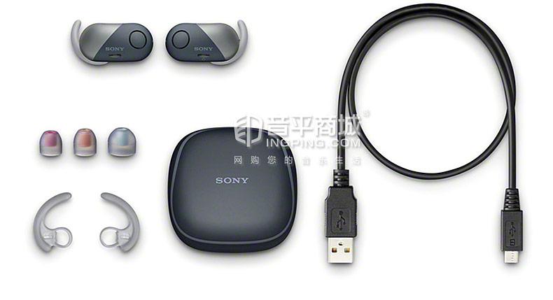 索尼(SONY) WF-SP700N 真无线降噪防水蓝牙运动耳机