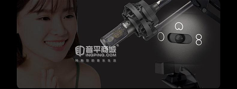 索尼(SONY) C-100 双振膜录音棚电容麦克风