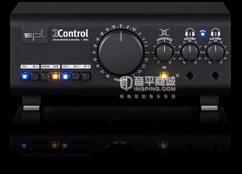 2Control 扬声器&耳机监听控制器