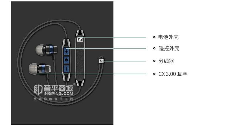 CX 6.00BT IN-Ear Wireless无线入耳式蓝牙耳机