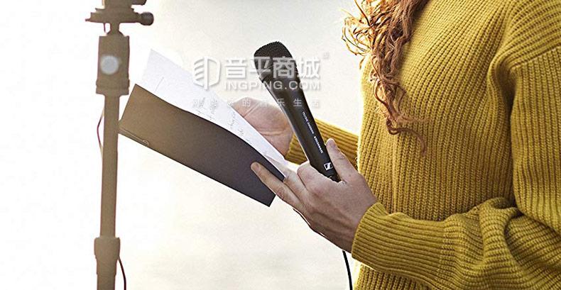 森海塞尔(Sennheiser) Handmic Digital 数字录音麦克风USB手机采访