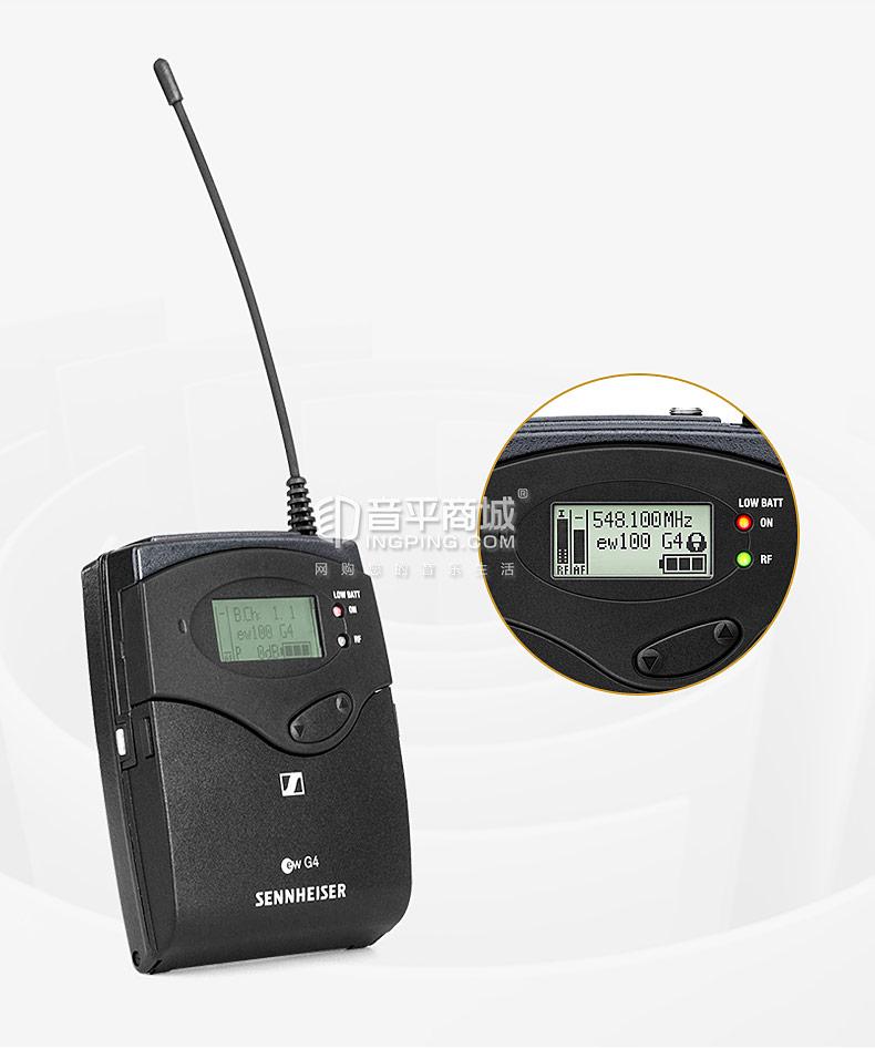 森海塞尔(Sennheiser) EW 135P G4 无线系统专业麦克风舞台会议演讲