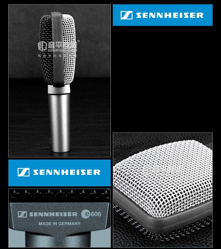森海塞尔(Sennheiser) E606 动圈式中频乐器麦克风