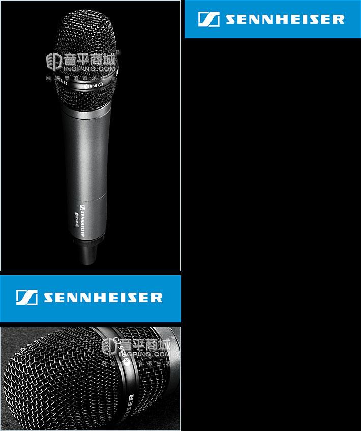 森海塞尔(Sennheiser) EW100-935G3 KTV/演出手持式无线动圈麦克风
