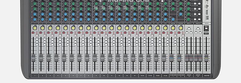 Signature22MTK系列专业调音台