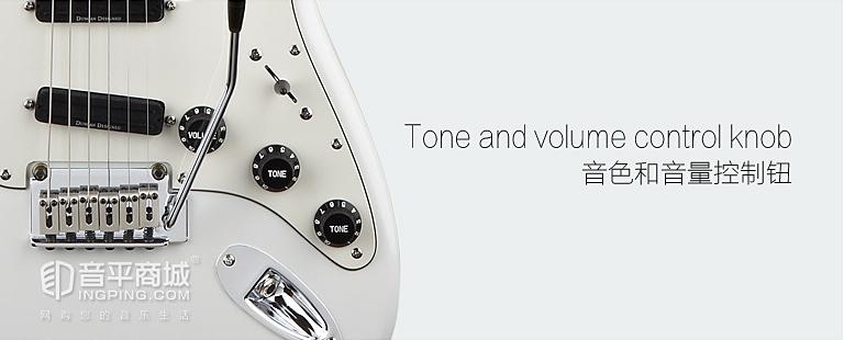 斯奎尔(Squier-Fender) 030-0510 SQ 豪华 STRAT HOT RAILS 电吉他