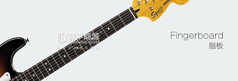 斯奎尔(Squier-Fender) 030-1215-500 SQ VM STRAT 单单双 玫瑰木指板 电吉他