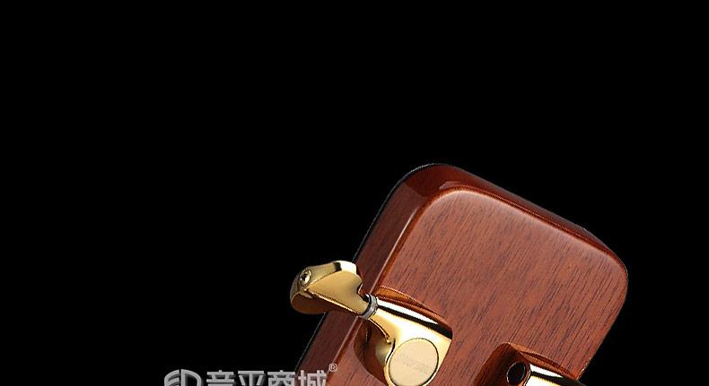 星臣(Starsun) DF10 41寸原木色亮光圆角单板民谣吉他