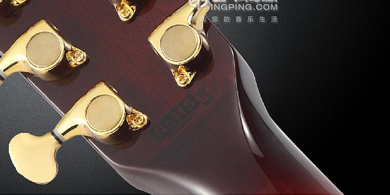 星臣(Starsun) F1E 41寸单板民谣木吉他(烟化色)电箱款