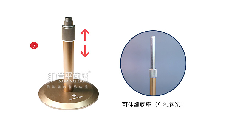 SMIC-1全景麦克风清单