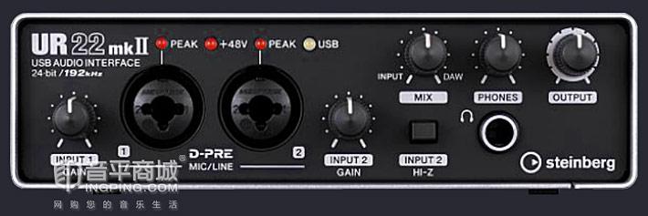 steinberg UR22 MK II 二代 USB音频接口
