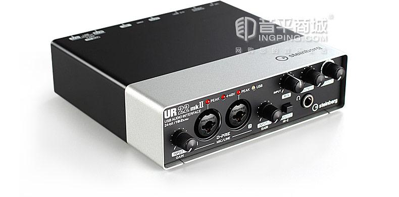 雅马哈(steinberg) UR22 MK II 二代 专业录音外置USB声卡