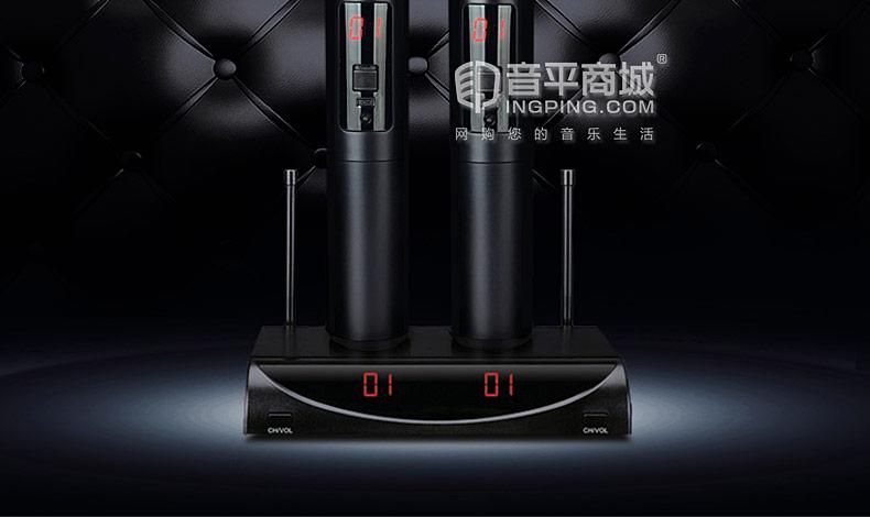 X3 KTV/演出家用U段无线麦克风 一拖二