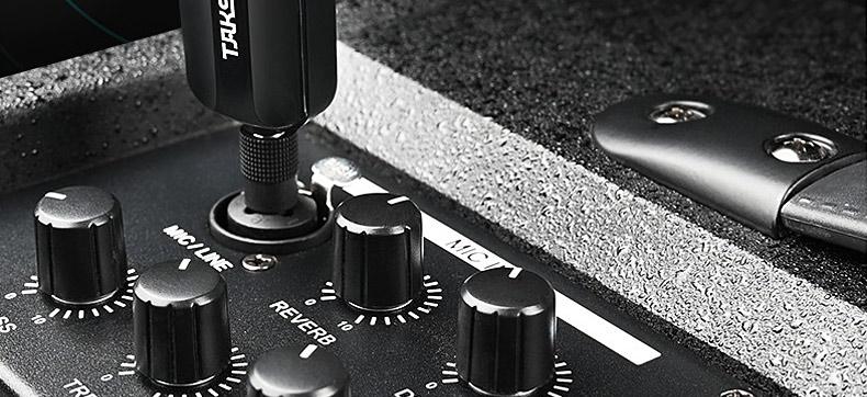 得胜(TAKSTAR) TS-K201 无线话筒唱歌ktv户外音响会议舞台演出麦克风