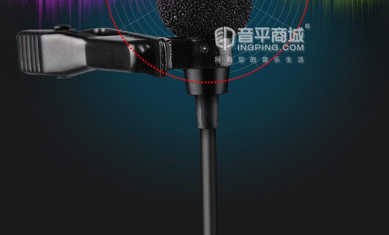 得胜(TAKSTAR) SGC-200W 无线摄像麦克风 R2双通道