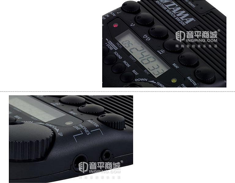 RW200节拍器细节