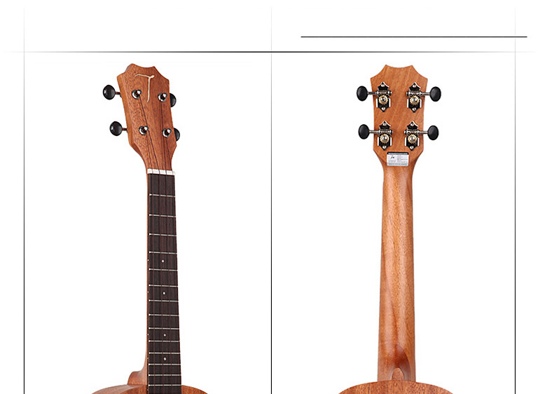 TUC-230桃花芯木单板 23寸 尤克里里小吉他