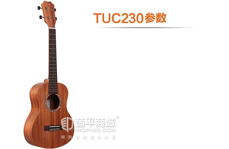 TUC-230桃花芯木单板 23寸 尤克里里小吉他 参数