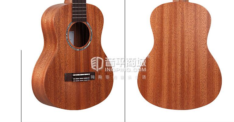 TUC-230桃花芯木单板 23寸 尤克里里小吉他 细节图