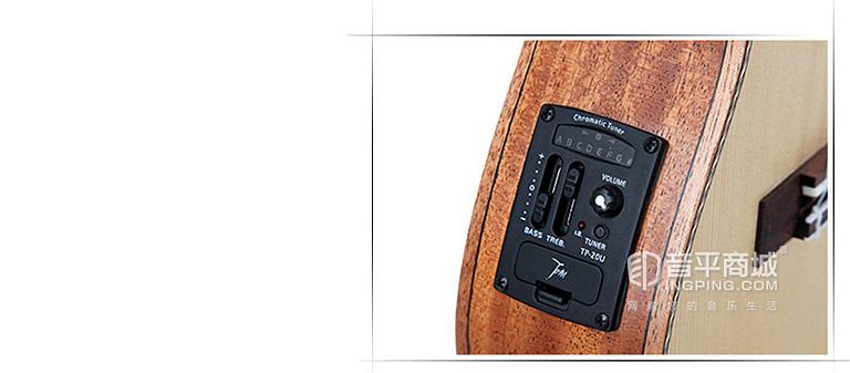 TUC-280E 23寸尤克里里单板四弦小吉他琴弦