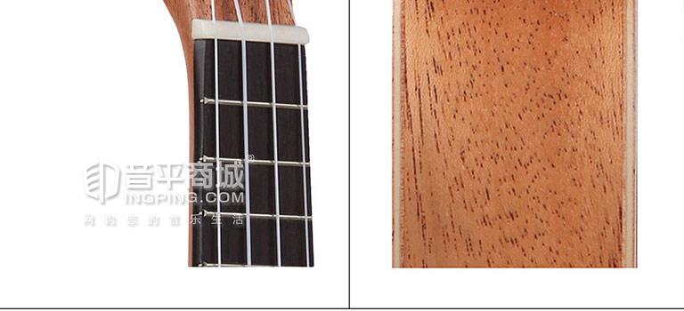 TUP-200 17寸尤克里里桃花木迷你小吉他 细节图