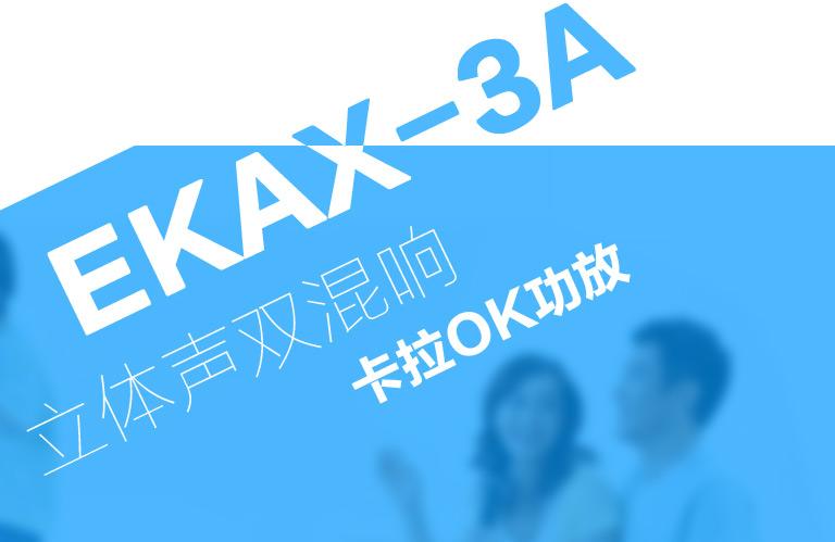 EKAX-3A卡拉OK功放