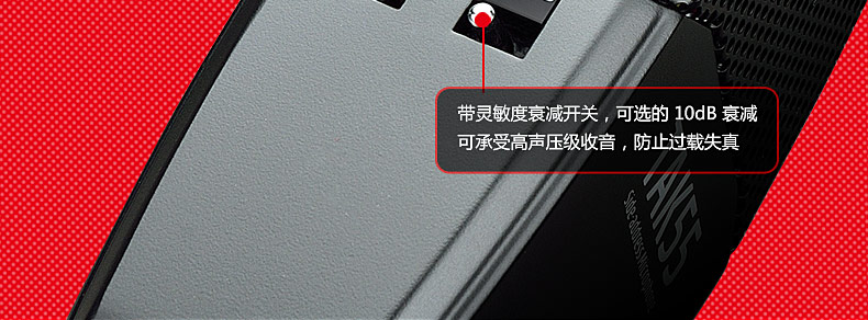得胜(TAKSTAR) TAK55 双面大震  膜话筒 多指向电容录音麦克风