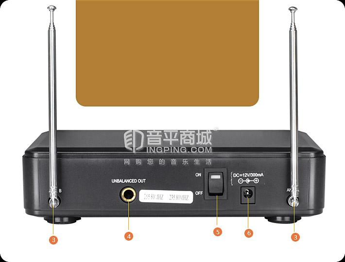TS-2200 KTV/演出手持式无线动圈麦克风