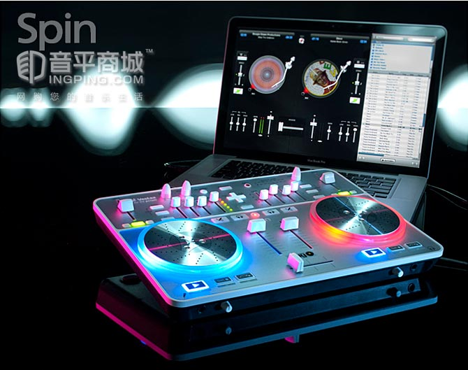 威士达(VESTAX) SPIN MAC苹果系统专用打碟机