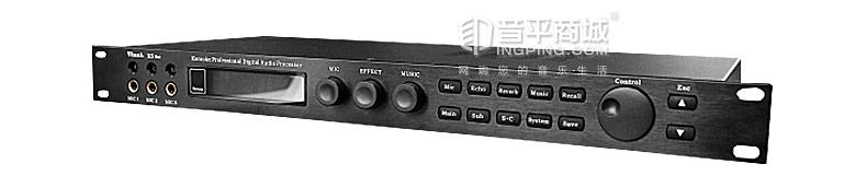 韵乐(Vinali) X5 Ext前级效果器 KTV效果器 升级版