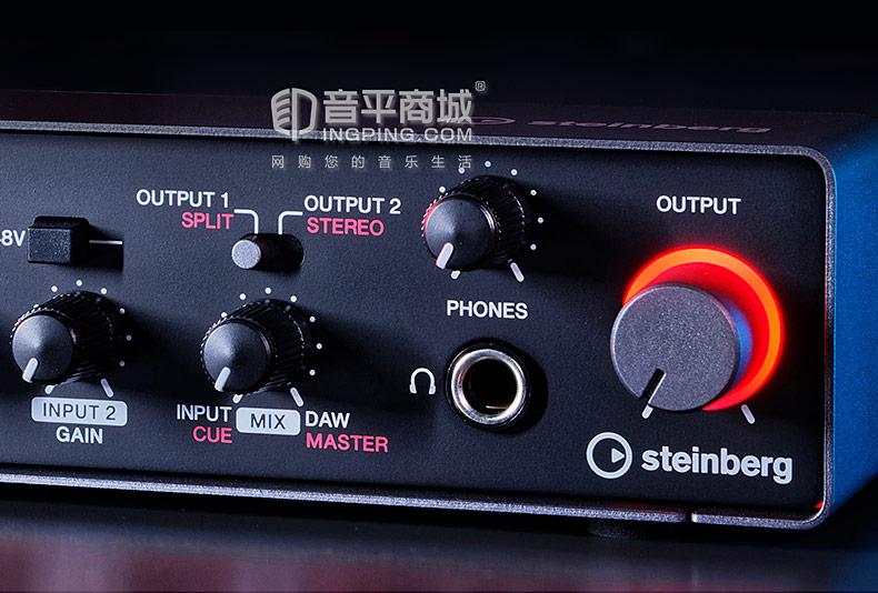雅马哈(YAMAHA) steinberg UR24C 音频接口USB录音编曲声卡