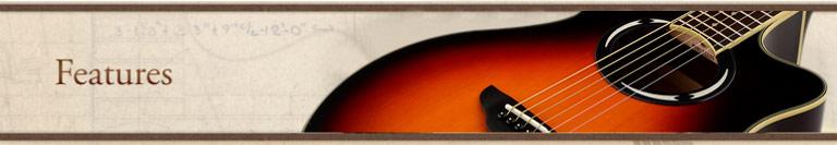 雅马哈 APX500III 吉他特点