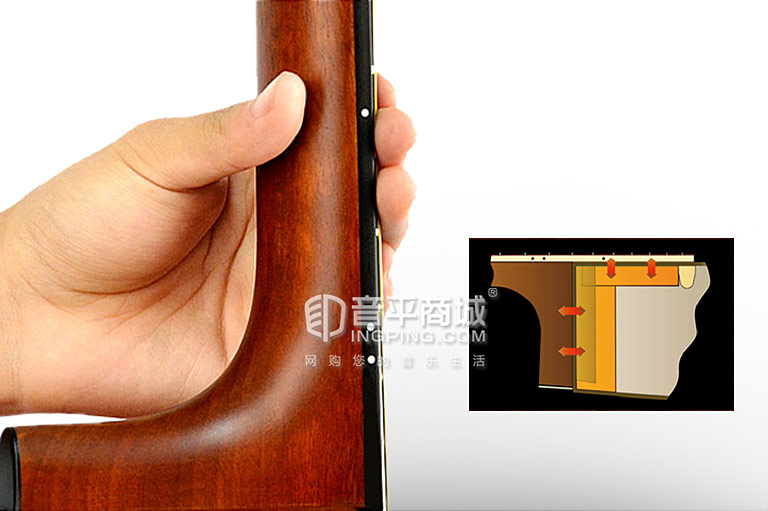 FSX800C 吉他 琴颈