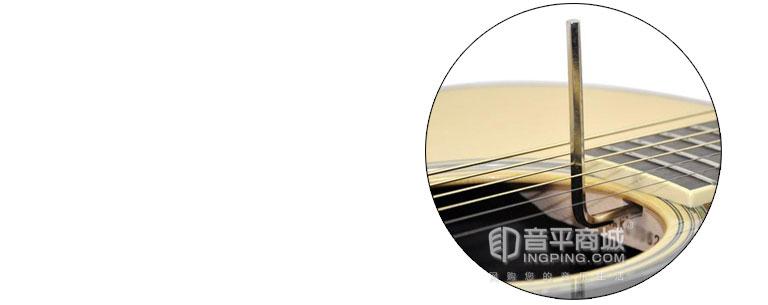 雅马哈LL16D电箱吉他琴颈
