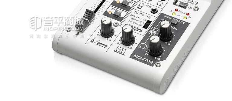 AG03 带声卡调音台 支持网络K歌 Loopback 声卡+调音台 AG03 移动K歌 随时随地K歌 制作音乐