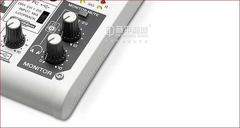 AG03 带声卡调音台 支持网络K歌 Loopback 声卡+调音台 AG03 移动K歌 随时随地K歌 制作音乐 音响调节旋钮