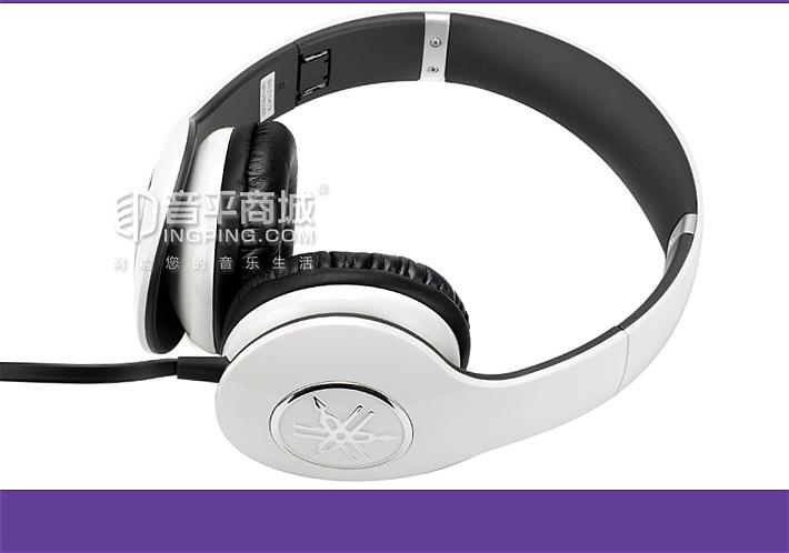 雅马哈(YAMAHA) HPH-PRO300 多彩时尚 高品质HiFi耳机 (白色)