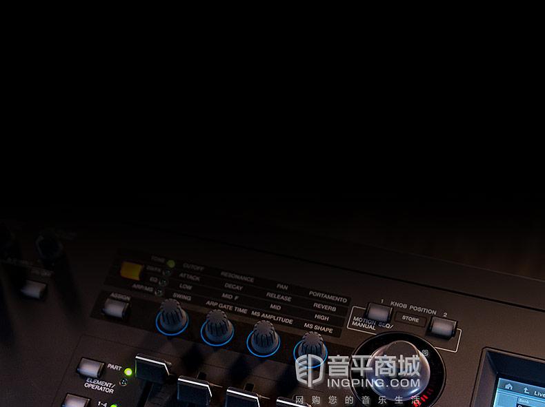雅马哈(YAMAHA) MODX8 音乐演奏88键舞台合成器