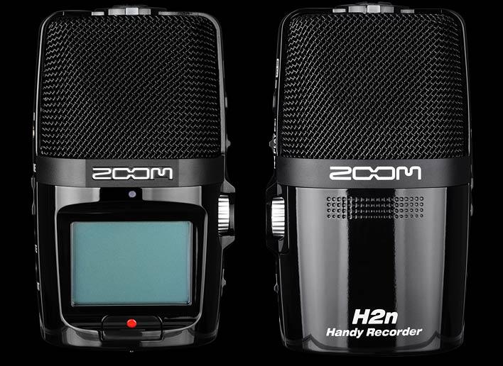 ZOOM H2N 便携式环绕声数字录音机 乐器人声录音笔 同期录音机