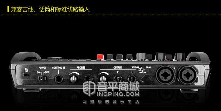 ZOOM R8 便携式工作站 8路数字录音机 多功能声卡 音频接口 现场录音机